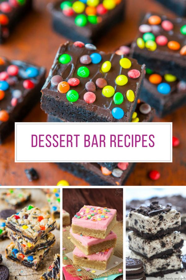 These really are the best dessert bar recipes!