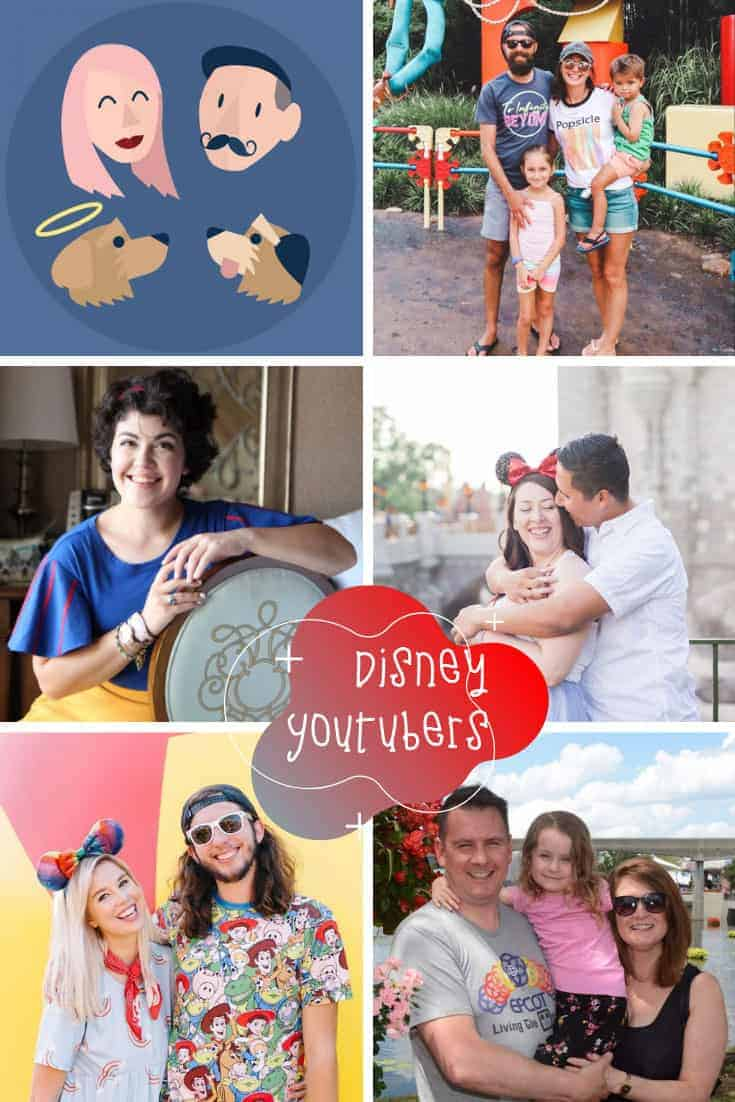 Check out the best DIsney Youtubers for planning tips and reviews #disney