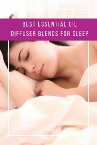 These essential oil blends for sleep smell AMAZING and are so relaxing