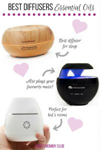 Finally - a breakdown of the best essential oil diffusers for sleeping, travel and even large rooms!