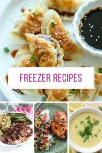 I needed more freezer friendly recipes for my meal plan - thanks for sharing!