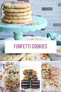 Oh yummy - so many funfetti cookies to try!