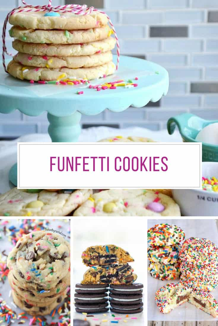 12 of the Best Funfetti Cookies that You Won't Want to Share
