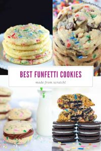 Best Funfetti Cookies | From Scratch | Sprinkles | Sugar Cookies | Chocolate Chip | Party Food | Dessert