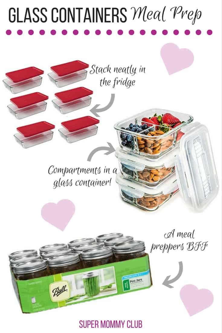 LOVING these glass meal prep containers - I need more for my system! Thanks for sharing!