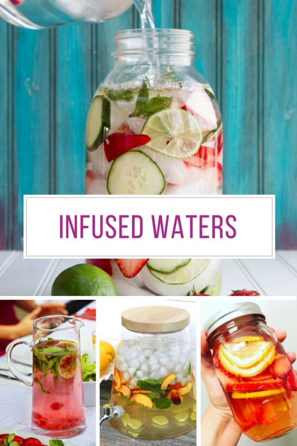 These infused water recipes look so refreshing! Thanks for sharing!
