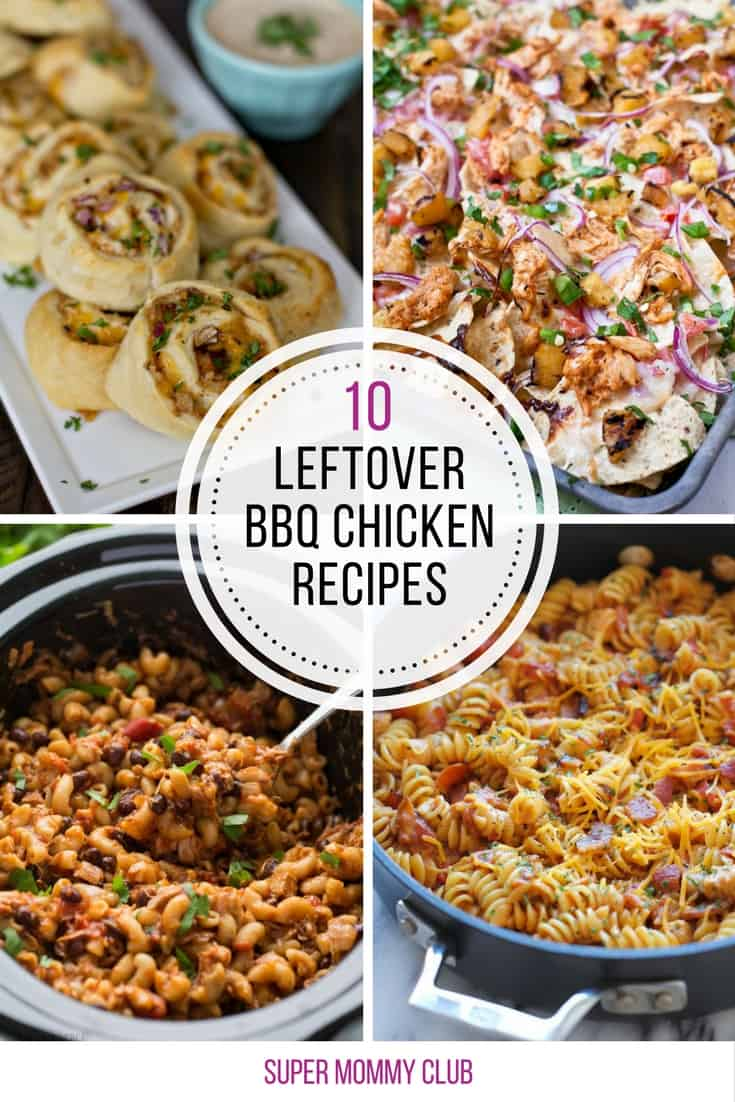 I was wondering what to do with all that leftover BBQ chicken - now I know!