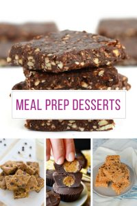 These meal prep desserts look delicious - can't wait to try some out on Sunday!