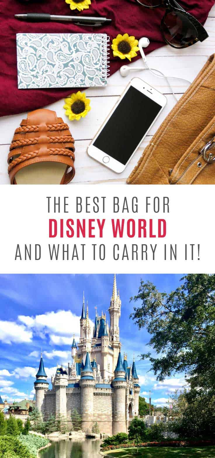 Perfect! The best mom bag for Disney World AND what to carry in it!