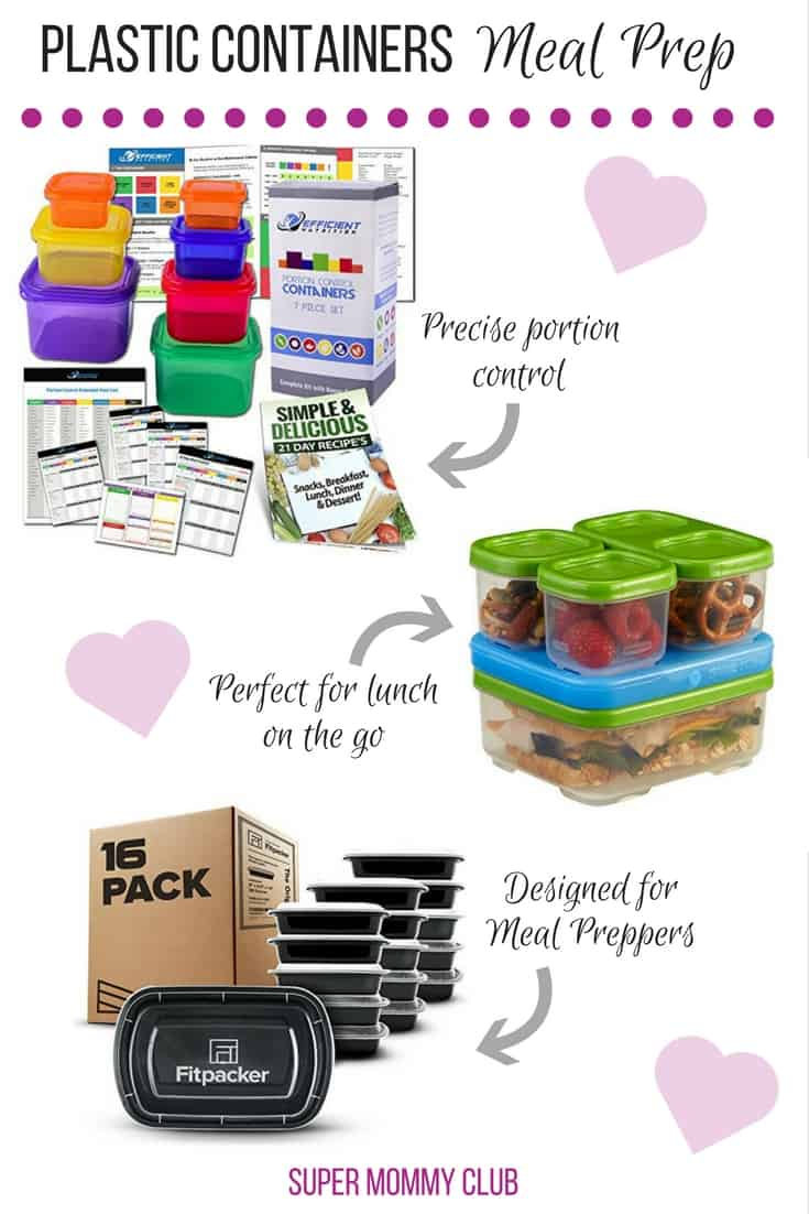 I've been searching for plastic meal prep containers and I love that these are all BPA free! Thanks for sharing!