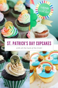 Best St. Patrick's Day Cupcakes | Recipes | Rainbows | Irish | Guinness | Baileys | Party Food
