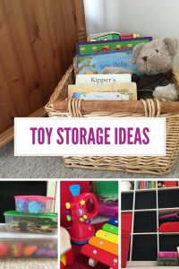 Are you tired of tripping over toys? I am and its inspired me to collect the best ideas I could find for children's toy storage ideas!