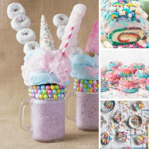 These unicorn recipes are amazing!
