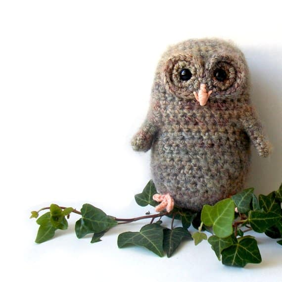 Bill The Owl Baby - Amigurumi Pattern PDF