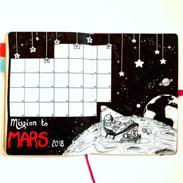 Black Mars Space Monthly Log
