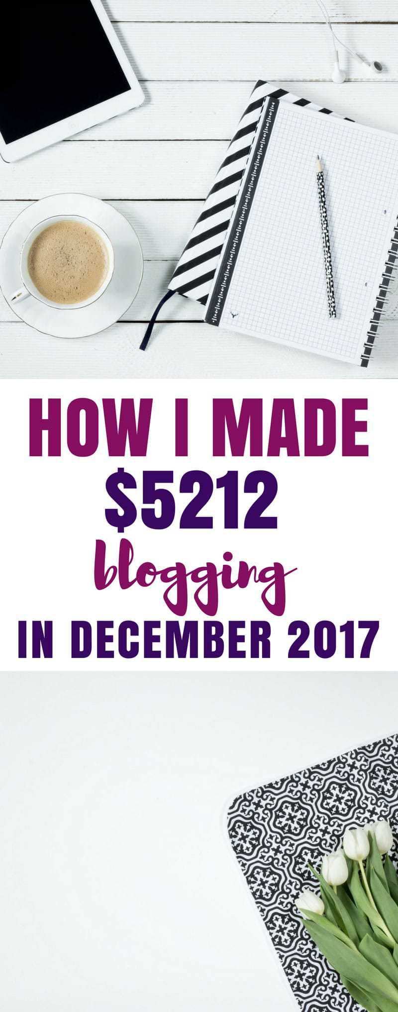 Blog Income Report - Find out how one blogger earned $5212 in one month without sponsored posts or her own product! #blogging #incomereport