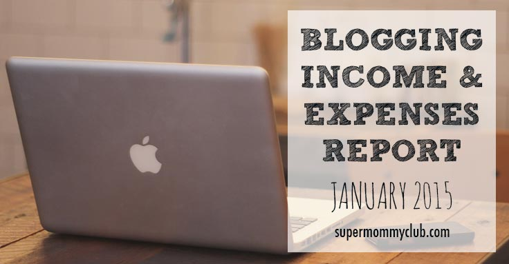 Blogging Income and Expenditure – January 2015