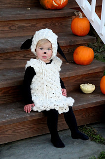 Bo Beep's Lost Sheep Crochet halloween Costume