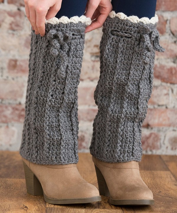 Boot Cuff Leg Warmer Crochet Pattern