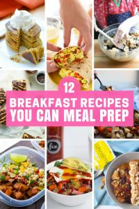 Breakfast Recipes to Meal Prep this Sunday