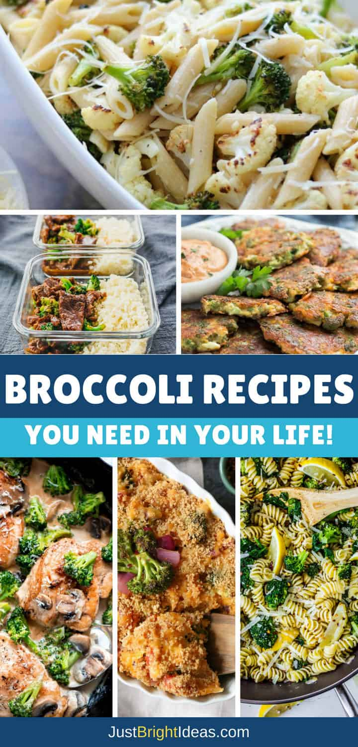 Broccoli Recipes - Pinterest
