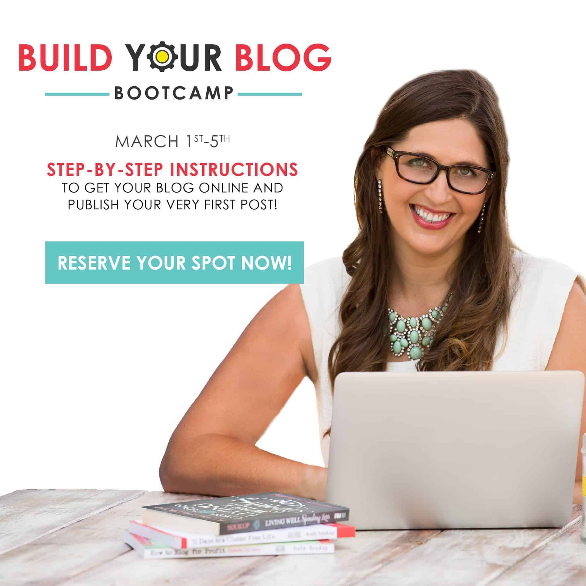 Sign Up for the free blog training from EBA