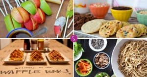 26 Build Your Own Food Bar Ideas - Perfect for Parties, Showers, and Family Movie Nights!