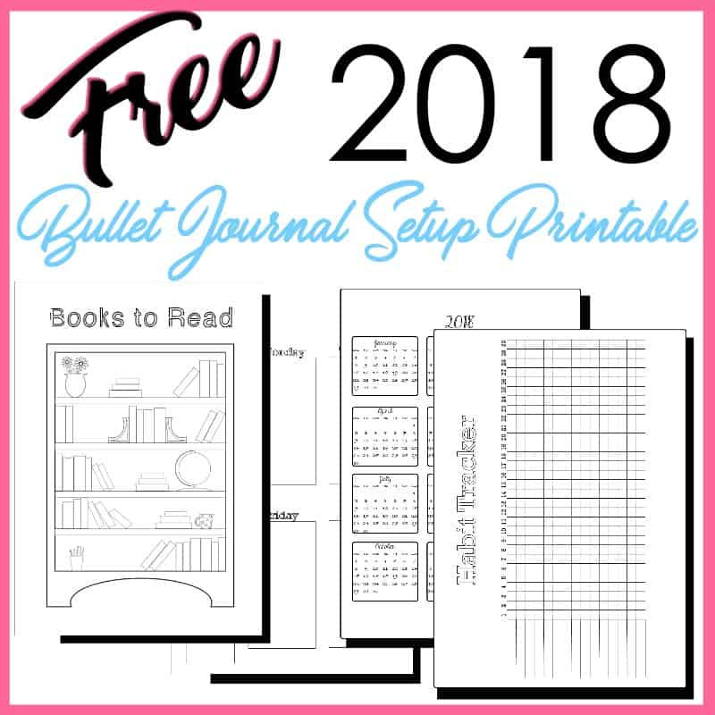 Bullet Journal Book Tracker