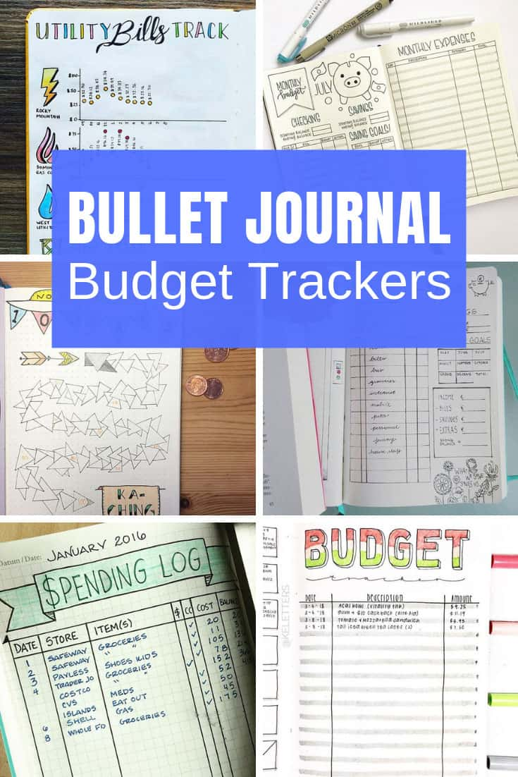 Get a handle on your finances with these Bullet Journal budget spreads to help you track your spending!