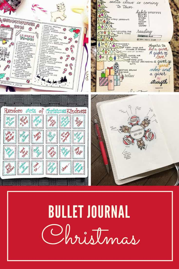 Bullet Journal Christmas Spreads Planning