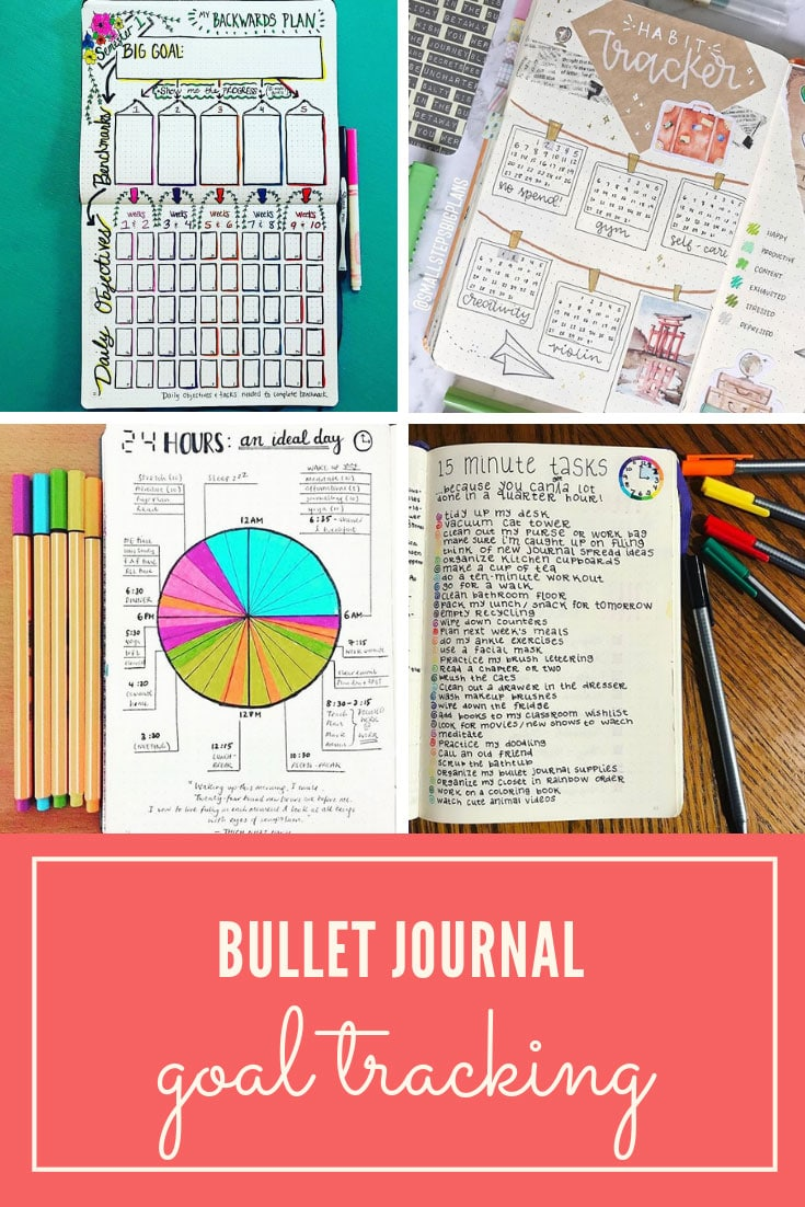 Bullet Journal Goal Tracking