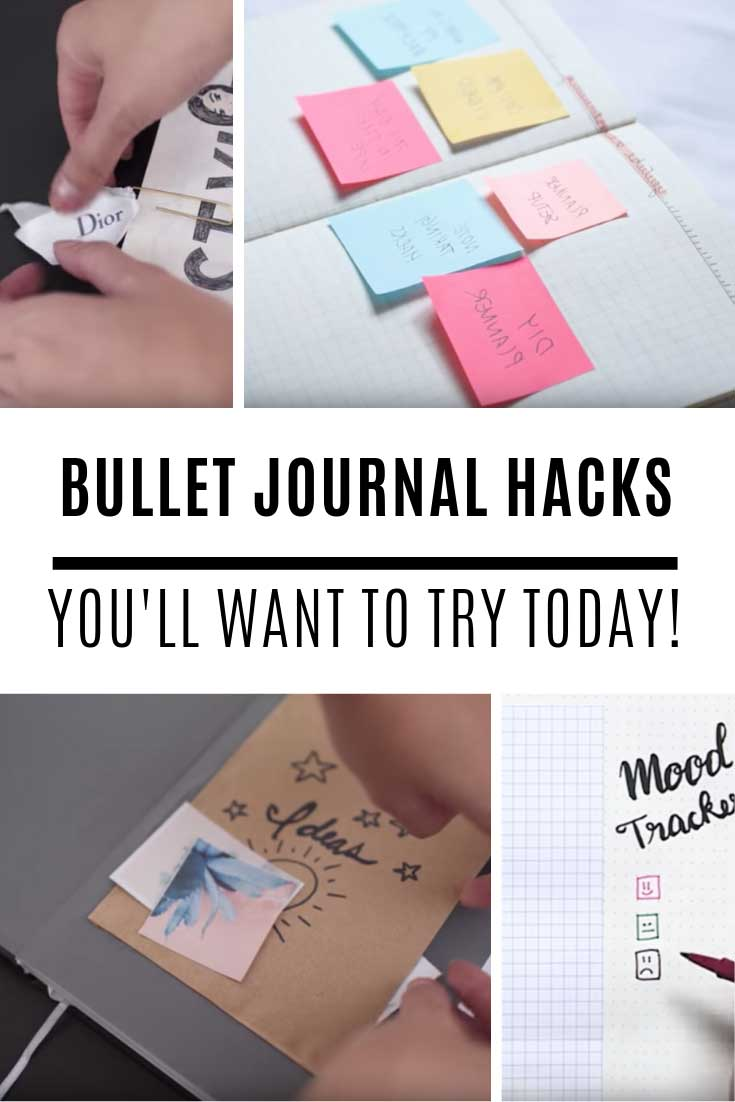 Loving these bullet journal hacks and you'll want to try them all out today!