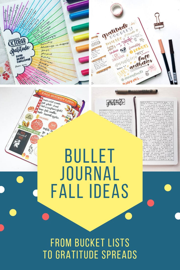 Bullet Journal Ideas for Fall