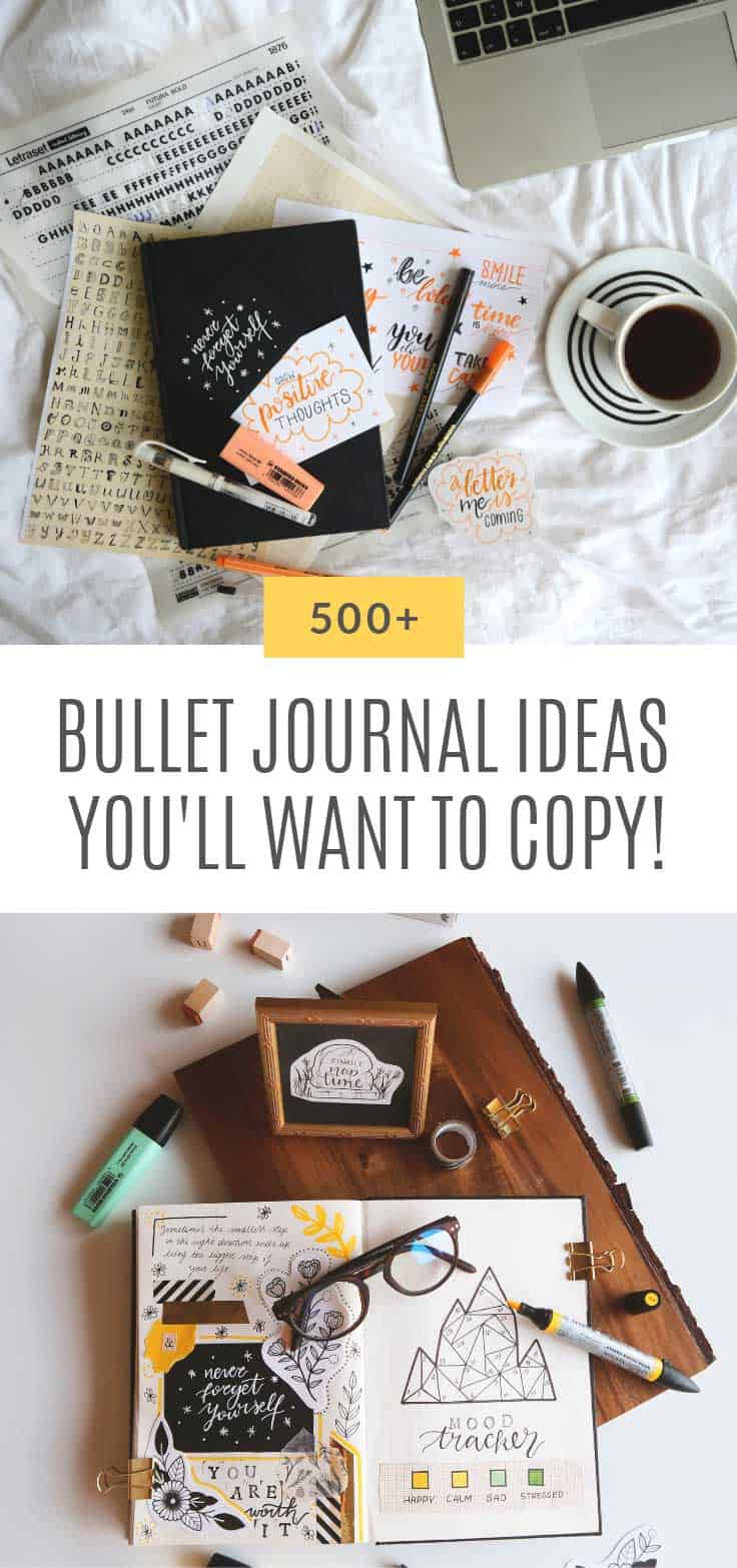 So many fabulous bullet journal ideas here!