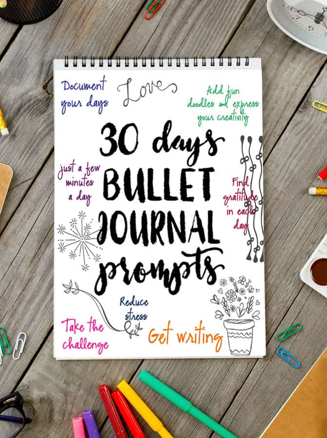 Bullet Journal Journal Prompt Printable