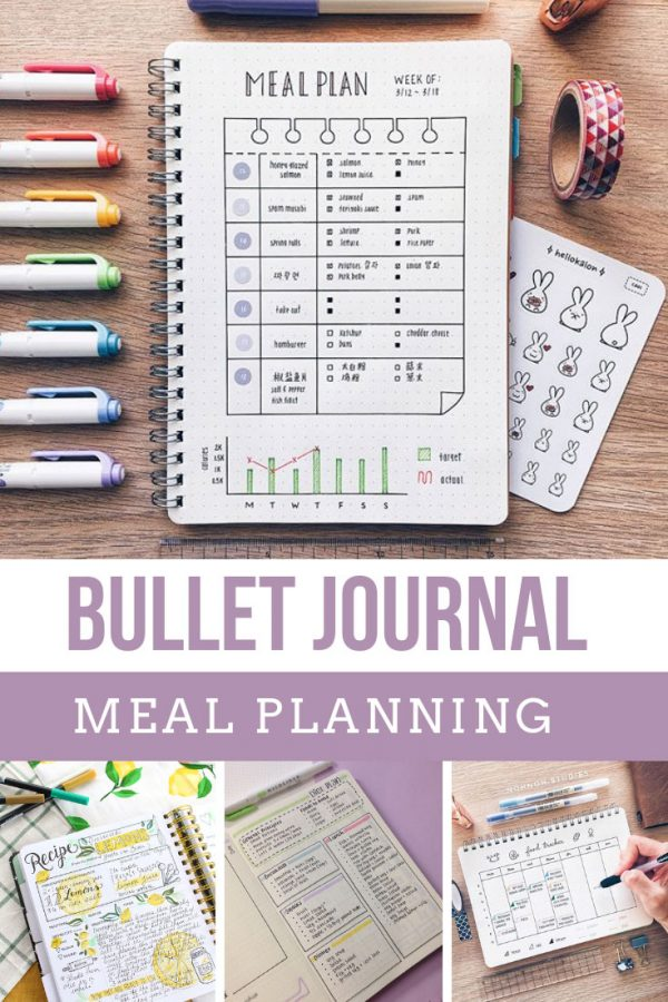 Trying to figure out how to eat healthy and save money on groceries? You need a Bullet Journal meal plan tracker in your life!