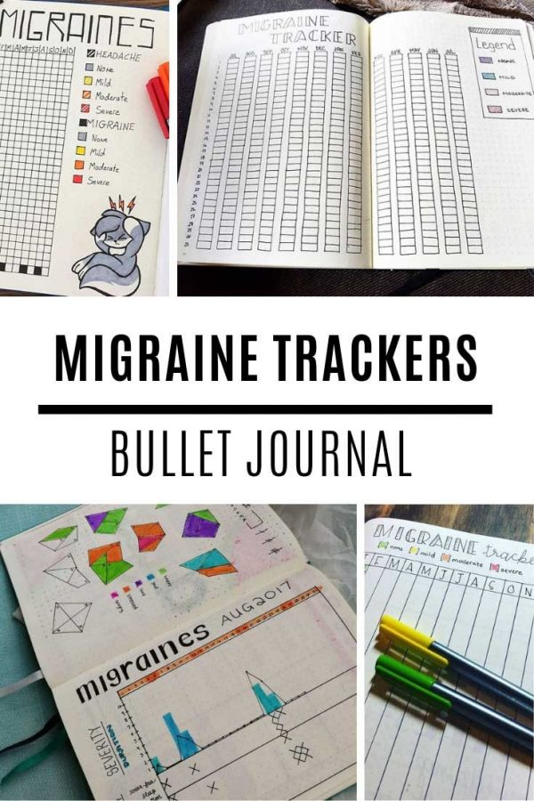 Looking for a bullet journal migraine tracker? Here's some great ideas for you to try.