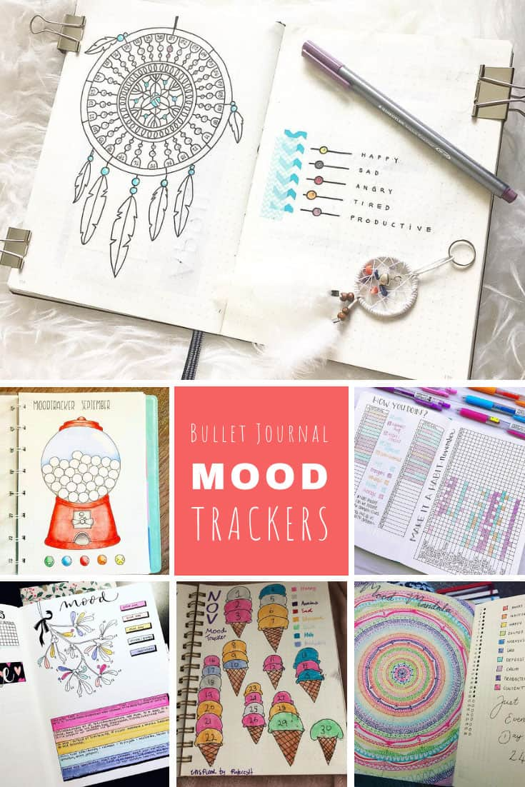 Bullet Journal Mood Trackers Emotions