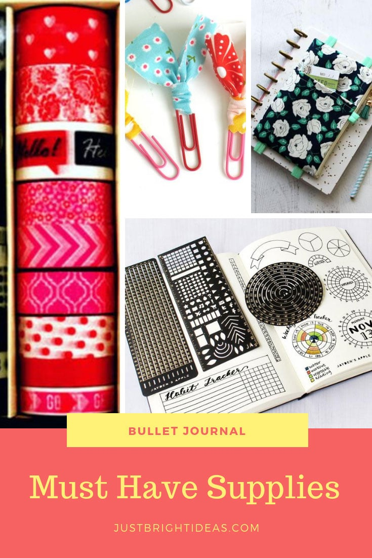Bullet Journal Must Have Supplies Gift List