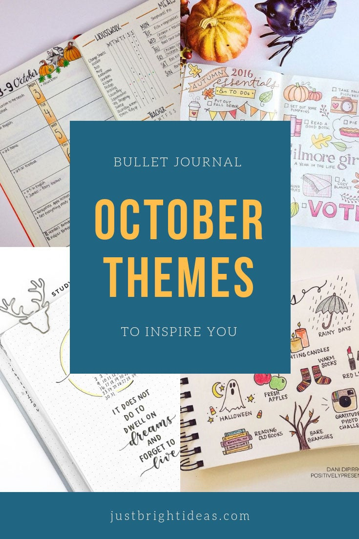 Bullet Journal October Theme Ideas