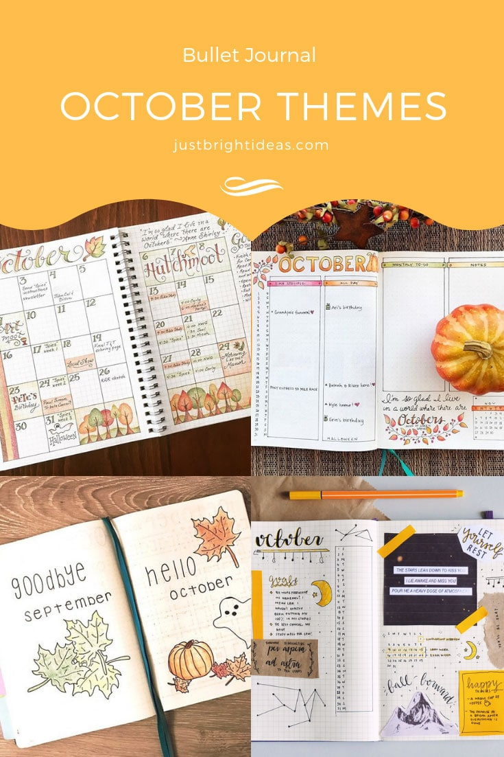 Bullet Journal October Themes