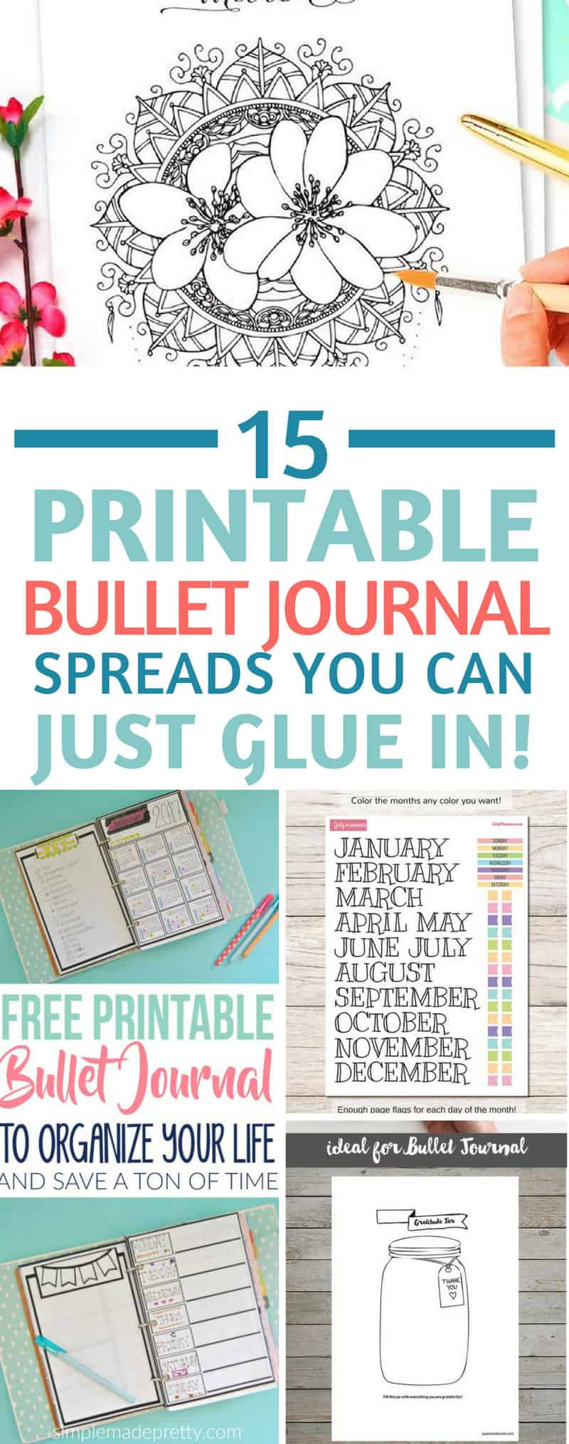 Bullet Journal Printables