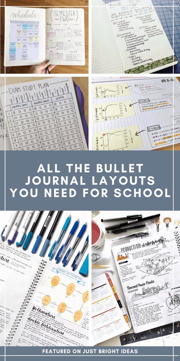 Check out these creative school bullet journal threads to help you stay on top of your study game this semester