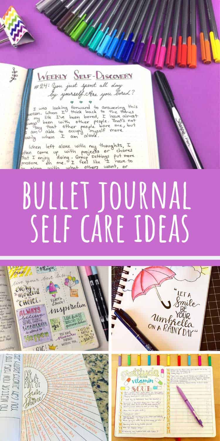 So many great bullet journal self care ideas to try in 2019!