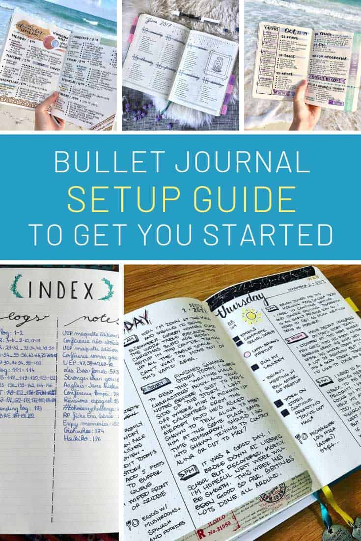 Loving this step by step bullet journal  set up guide!