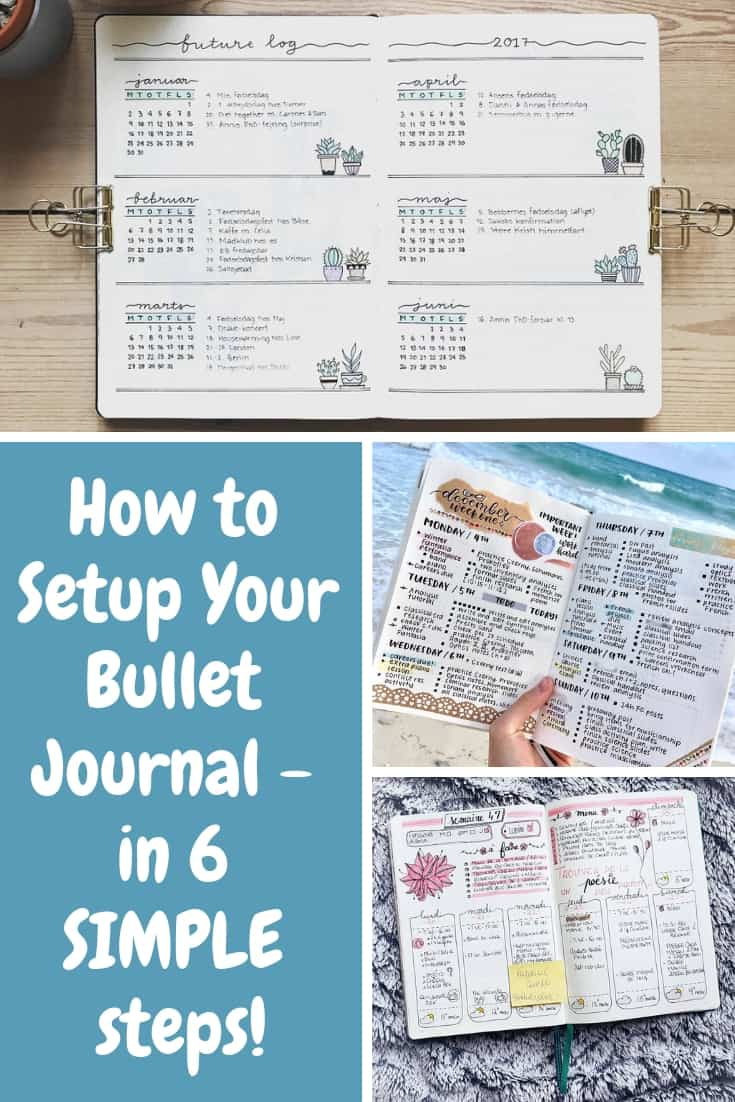 I've been wondering how to setup a bullet journal  and this guide has everything I need to get started!