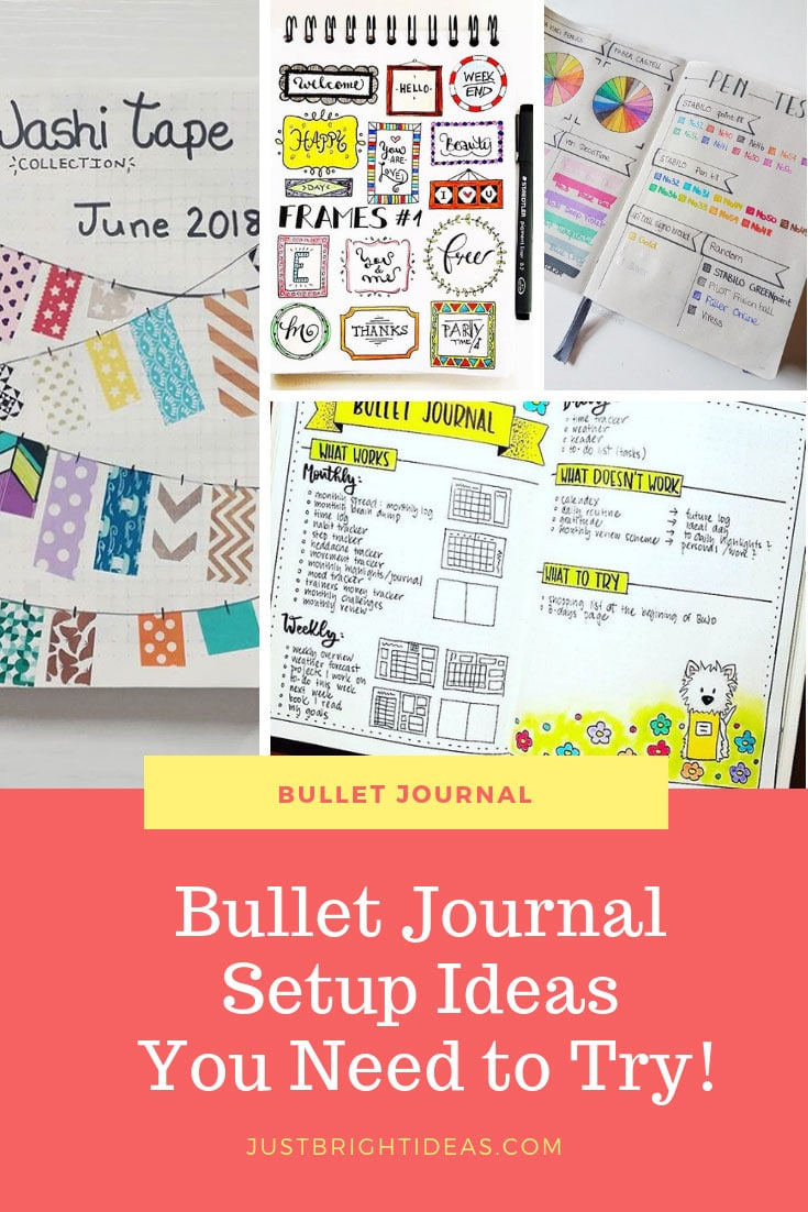 Bullet Journal Setup Ideas You need to try