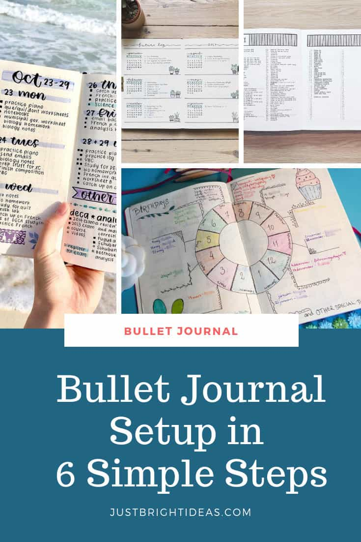 Bullet Journal Setup and What is a Bullet Journal