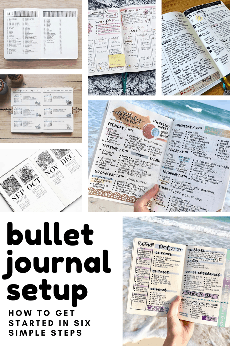Who knew setting up a bullet journal was so simple! I wish I'd done it earlier now!