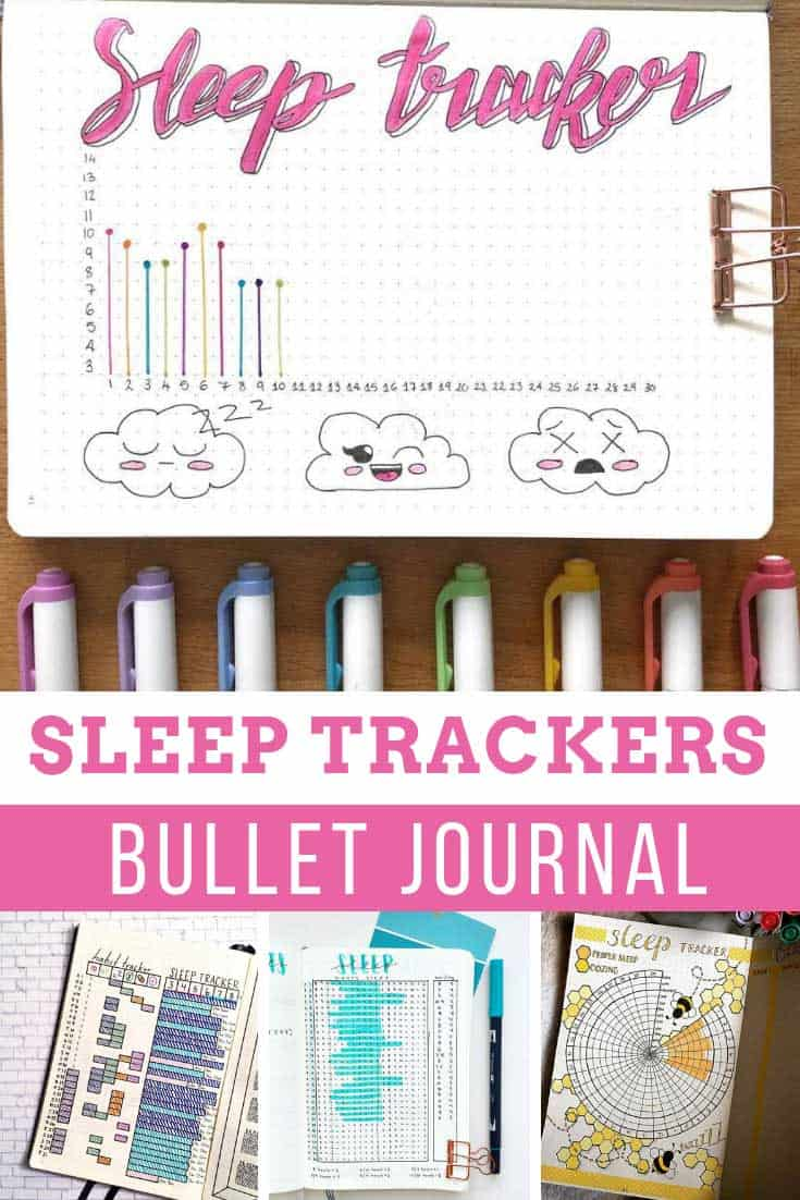 These bullet journal sleep tracker layouts are just what i need to make sure I'm getting enough rest!